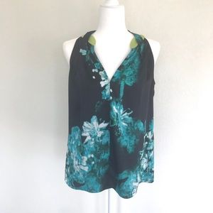 Tahari Sleeveless Blouse Size Medium